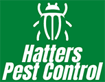 hatters pest control madison wisconsin logo